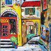 Camargue, Häuser, Malerei,