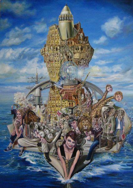 Noah, Surreal, Bibel, Expressionismus, Apokalypse, Symbolismus