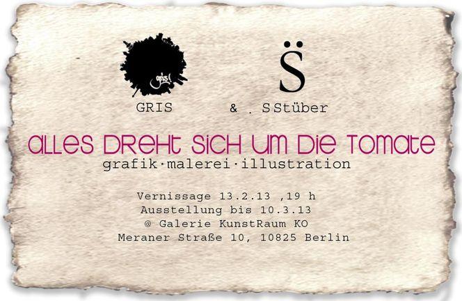 Berlin, Synafae, Einladung, Stefan stüber, 2013, Galerie ko kunstraum