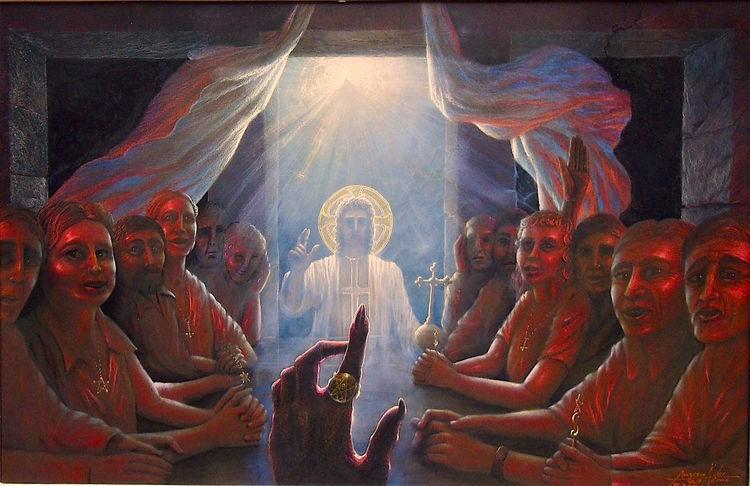 Religion, Gemälde, Menschen, Mythologie, Erlöserkapelle, Antichrist
