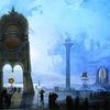 Karneval, Fantastische malerei, Venedig, Karneval in venedig