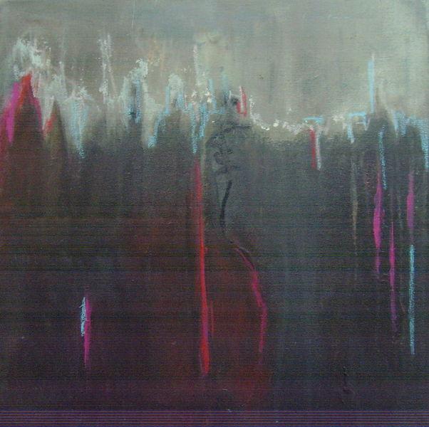 Pink, Dunkel braun, Rot schwarz, Pastellmalerei, Hellblau, Braun