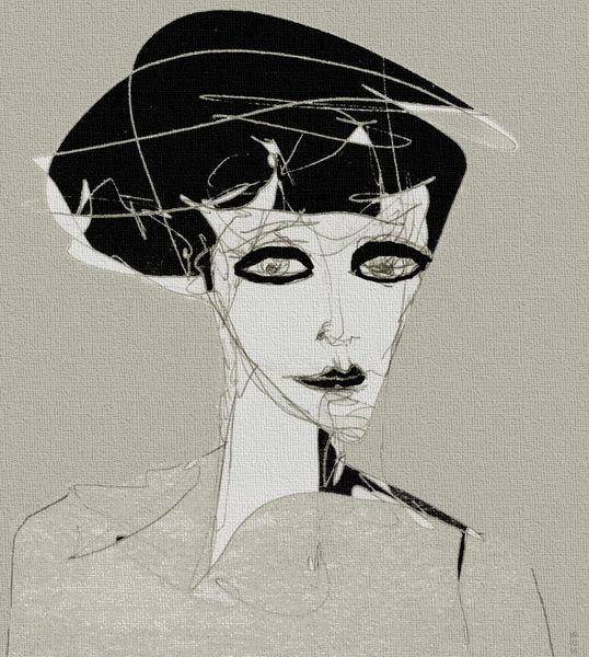 Portrait, Augen, Ausdruck, Gesicht, Surreal, Nachtschatten