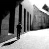 Fotografie, Schatten, Gegenlicht, Schwarzweiß