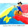 Krim, Putin, Ukraine, Karikatur