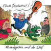Angela merkel, Wolf, Karikatur, Bundestag