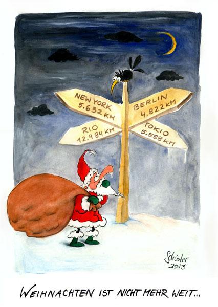 Bild Karikatur Weihnachten Advent Zeichnungen Von