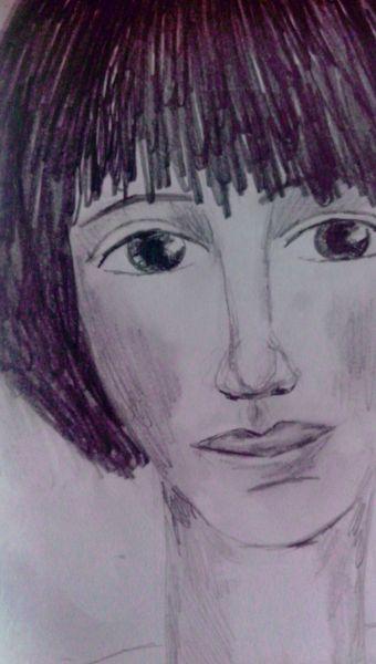 Zeichnungen, Nase, Augen