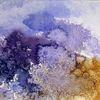 Pflanzen, Abstrakt, Aquarellmalerei, Schicht
