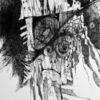 Schwarz weiß, Komposition, Kritzelei, Experimente