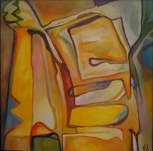 Glaube, Wolkig, Ölmalerei, Frühling, Malerei
