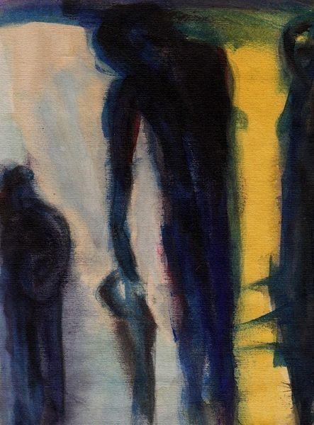 Traum, Nacht, Kalt, Wahn, Malerei