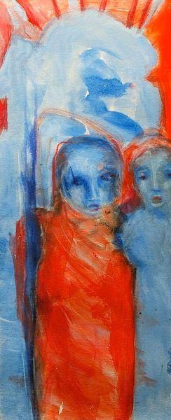 Psyche, Surreal, Traum, Malerei