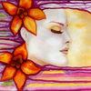 Schlaf, Schön, Traum, Aquarellmalerei