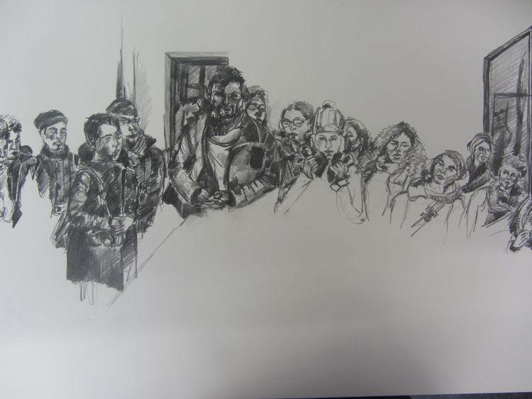 Zeichnungen, Versammlung, Berlin
