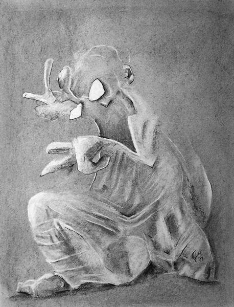 Zeichnungen, Gespenst