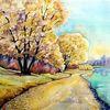 Herbst, Beucha, Albrechtshain, See