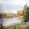 Herbst, See, Kleinpösna, Kiesgrube