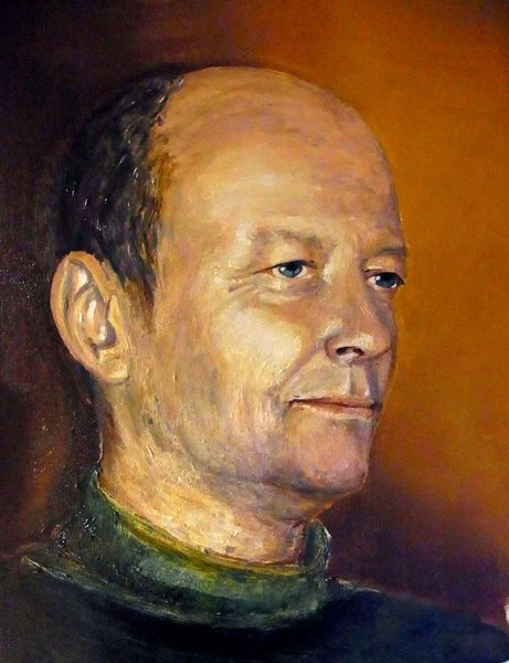 Portrait, Malerei, Bruder