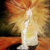 Licht, Kerzen, November, Malerei