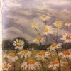 Malen, Feld, Sommer, Malerei