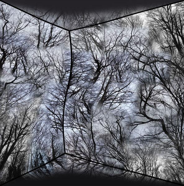 Fotografie, Himmel, Schwarzweiß, Geometrie, Landschaft, Surreal