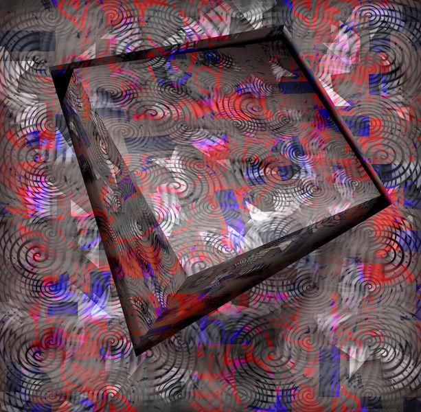 Diagonal, Zufall, Surreal, Kubus, Formen, Quadrat