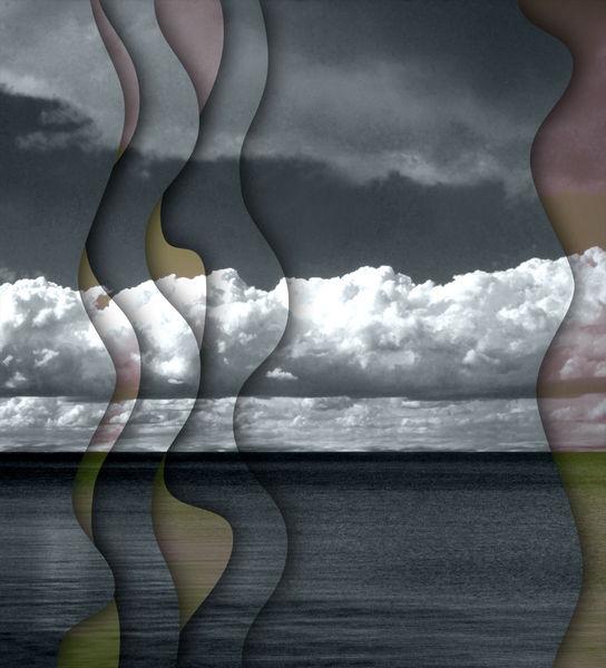 Ostsee, Romanze, Himmel, Parallels, Wolken, Fotografie