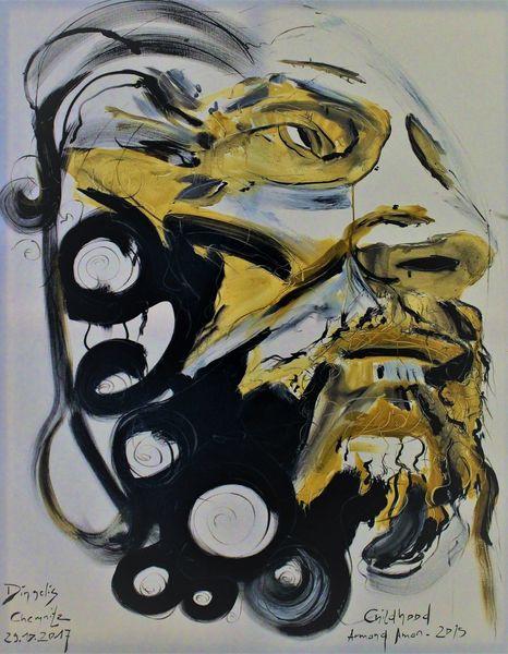 Gesicht, Menschen, Augen, Malerei