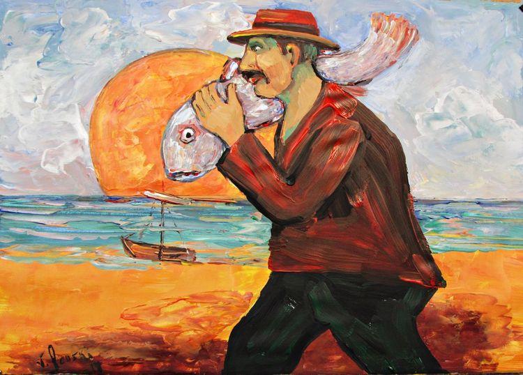 Malerei, Fischer