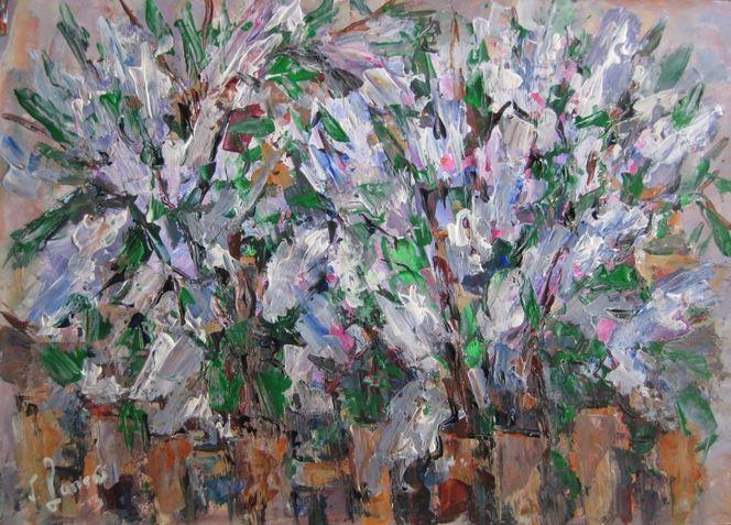 Malerei, Flieder