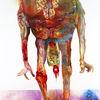 Mischtechnik, Bigender, Emotion, Malerei