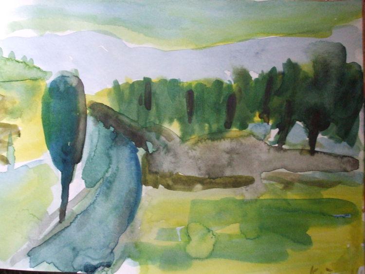 Tagebuch, Malerei
