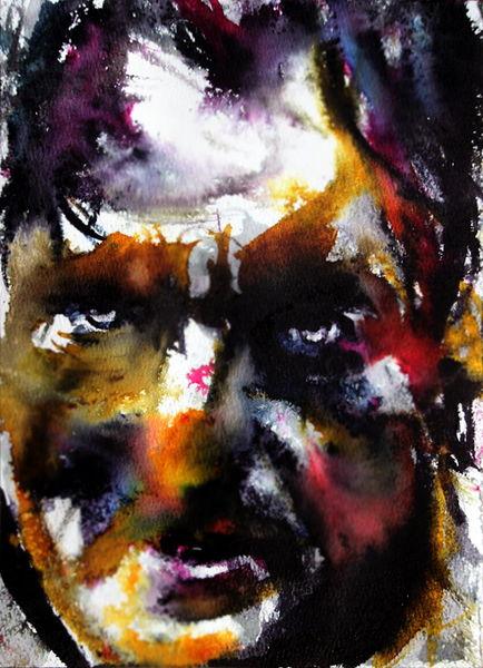 Gesicht, Farben, Menschen, Ausdruck, Mann, Blick