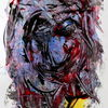 Dekoration, Malerei, Abstrakt, Farben