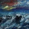 Welle, Stimmung, Meer, Landschaft