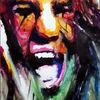 Menschen, Gesicht, Farben, Schrei