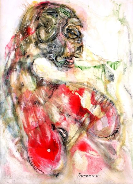 Farben, Rot, Zeichnungen,