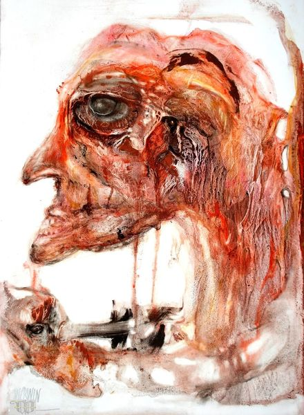 Prozess, Augen, Verhängnis, Zeichnungen, Band, Rand