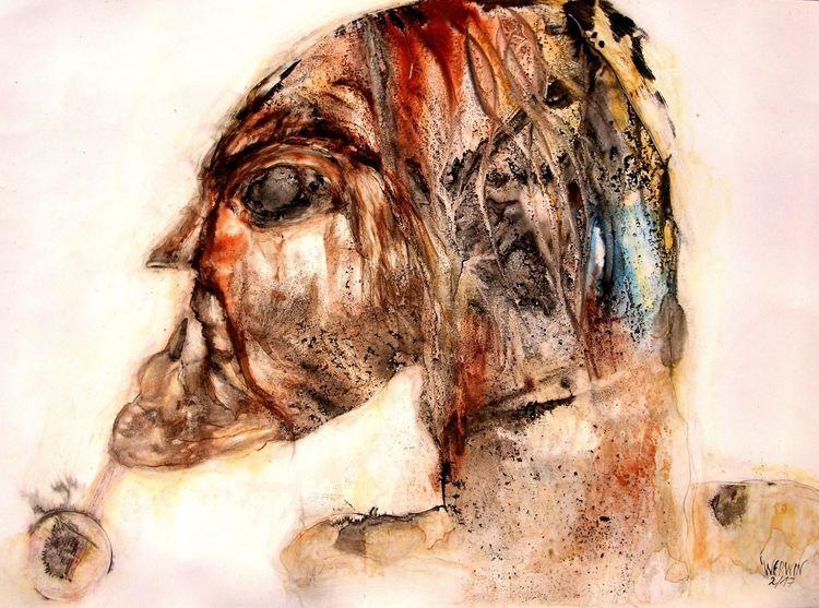 Augen, Kopf, Gesicht, Malerei