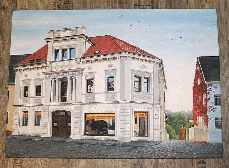 Malerei, Architektur, Acrylmalerei