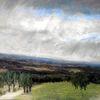 Landschaft, Wolken, Regen, Himmel