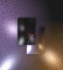 Möbel, Wanduhr, Uhr, Design