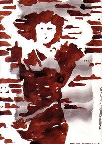 Zeichnung, Zeichnungen, Madonna