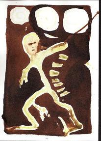 Zeichnung, Surreal, Zeichnungen, 2001