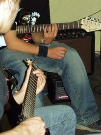Musik, Gitarre, Fotografie, Konzept