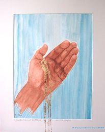 Grafik, Aquarellmalerei, Aquarell