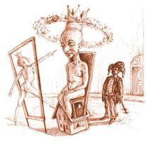 Figur, Skurril, Traum, Zeichnung