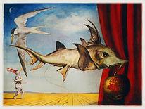 Fisch, Grafik, Figur, Skurril