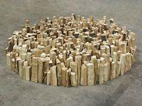 Holz, Bodenobjekt, Objekt, Holzbodenobjekt